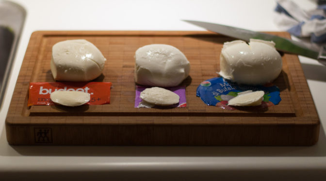 Test: Frisk mozzarella